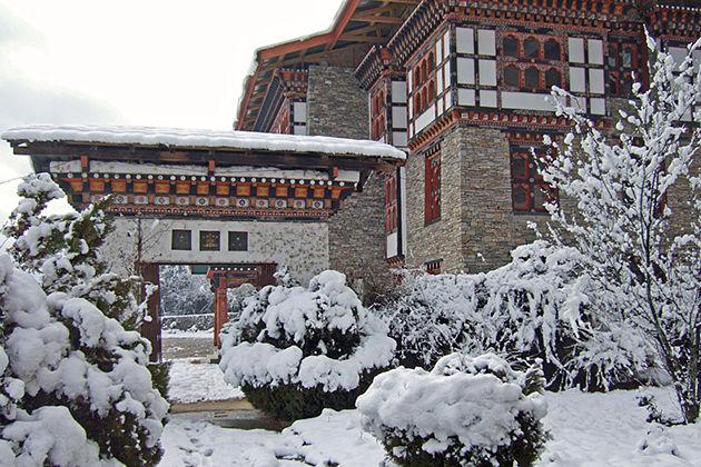 Winter in Bhutan tour itineraries