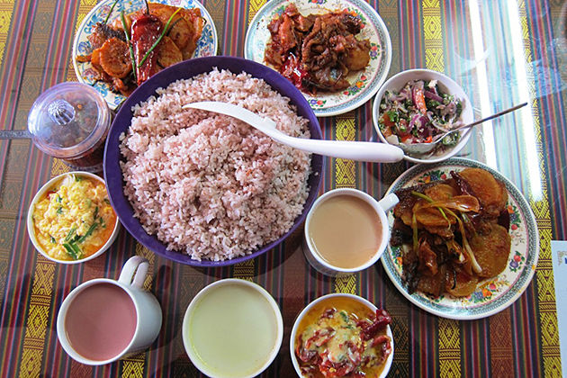 Delicious Food during Bhutan tour itinerary