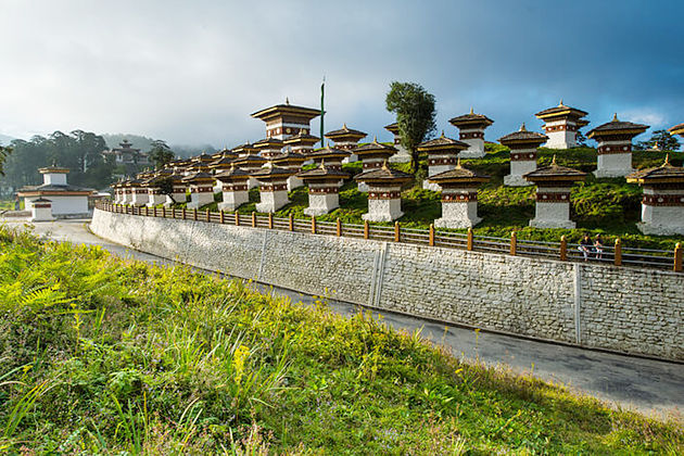 dochula pass - bhutan paro festival tour