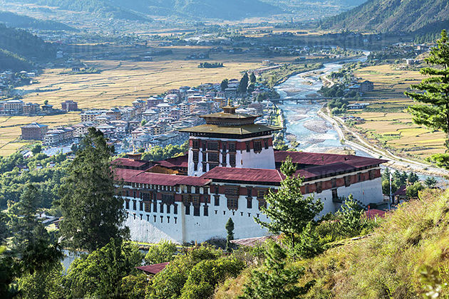 Paro in Bhutan tour itinerary packages