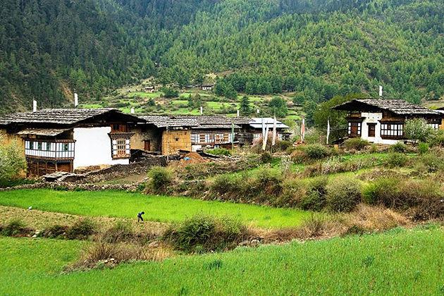 Haa Valley in Bhutan tour itinerary