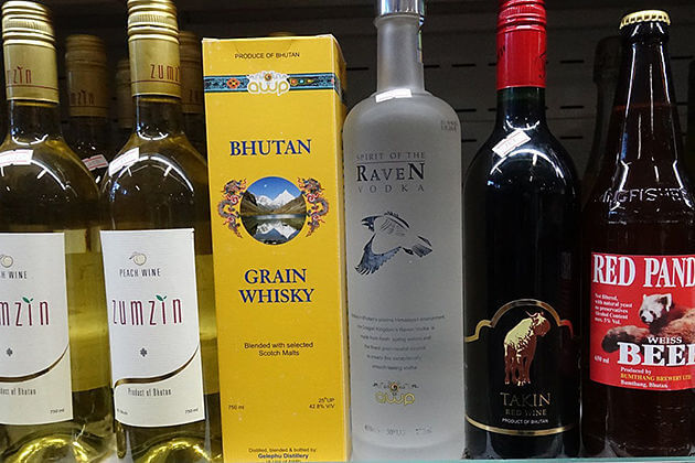 Bhutan-and-Wine-Information-Price