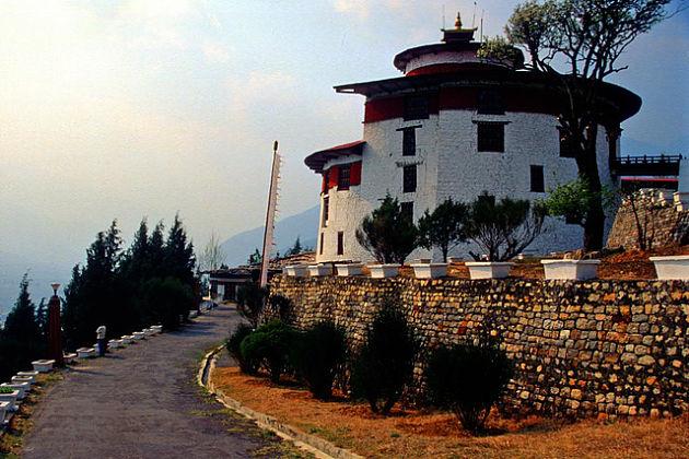 Tadzong - amankora bhutan tour titinerary