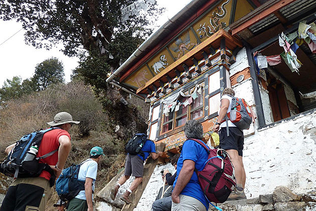 taktsang goemba - bhutan trekking tour