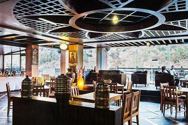 Upstairs restaurant - restaurants in thimphu