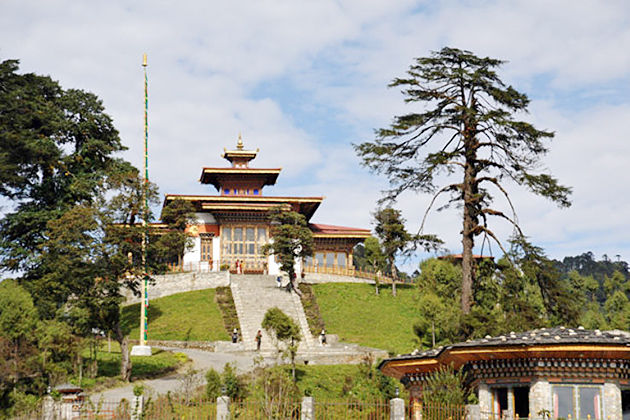 Zangdo Pelri Temle - tourist attractions in punakha