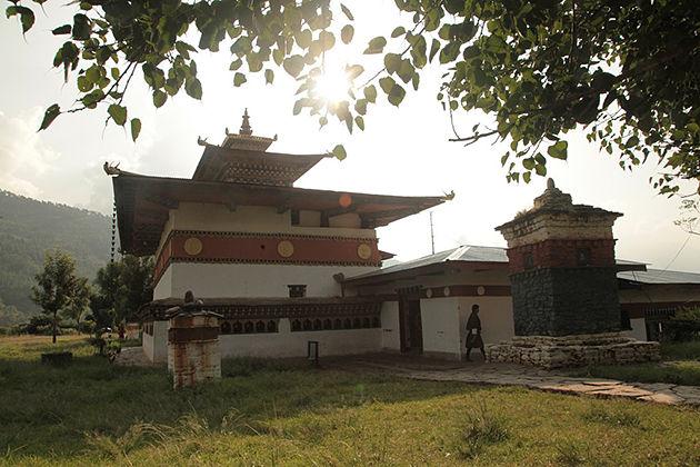 chimi lhakhang - 14 day bhutan trekking tour