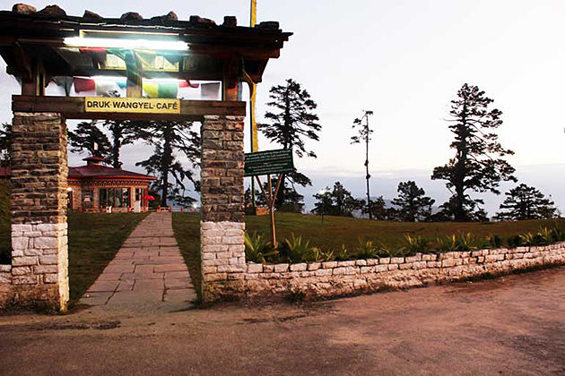 dochula restaurant - the best restaurant punakha