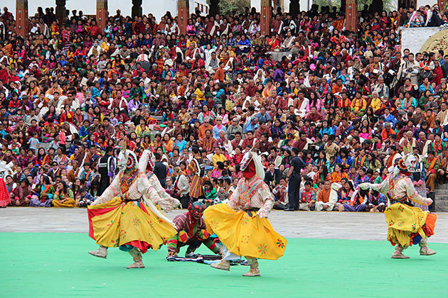 first day thimphu tsechu festival