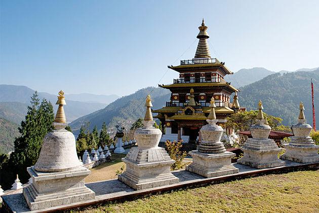 khansum yulley namgyal chorten - punakha best attractions