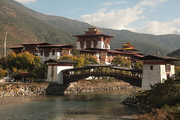 punakha dzong - bhutan trekking packages