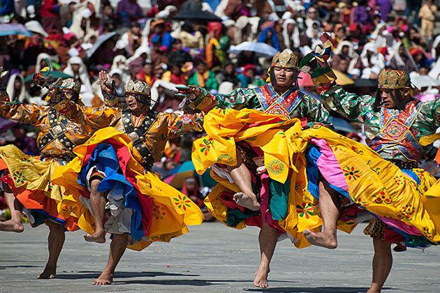 third day thimphu tshechu festival