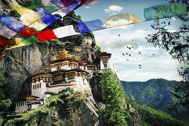 tiger nest - amankora bhutan tours