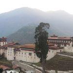 trongsa dzong - bhutan tour itinerary packages