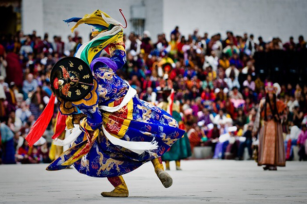 thimphu tshechu - bhutan festival tours