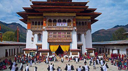 festival tours in bhutan