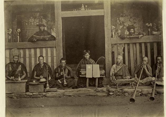 Monks - Bhutan Buddhist History