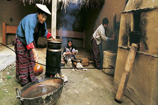 Folk Heritage Museum - majestic bhutan tours