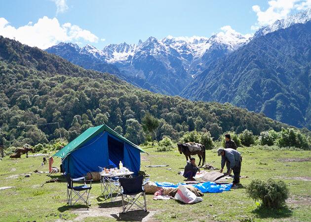 Simkotra Tsho - bhutan druk path trek route
