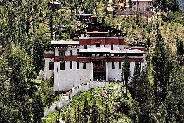 Simtokha Dzong - black necked crane festival tours