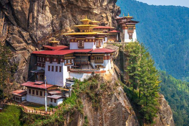 Taktsang Monastery bhutan attraction