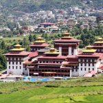 Tashicho dzong - bhutan white rafting tours