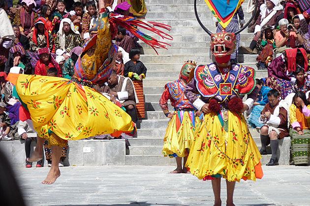 Wangduephodrang Festival - Bhutan festival holiday