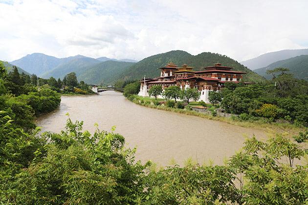amankora bhutan tourpackages - punaka dzong