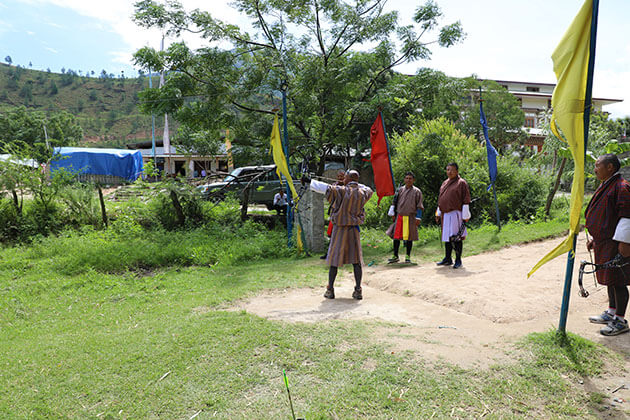 archery - bhutan majestic tour