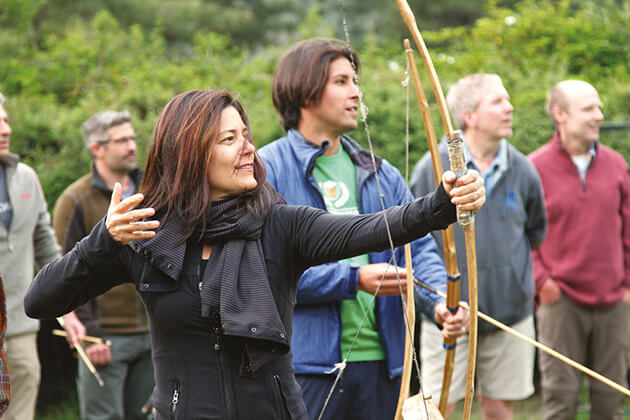 archery - bhutan adventure travel