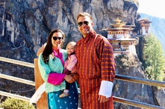 Family enjoy best bhutan tours and travels