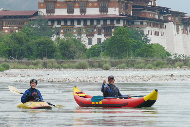 Kayaking - bhutan adventure tours