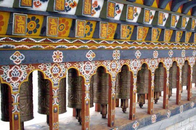 bhutan temple in thimpu