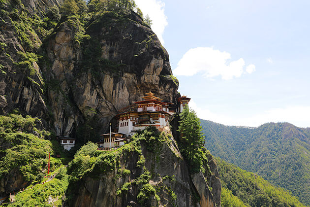 bhutan tour packages - tiger nest