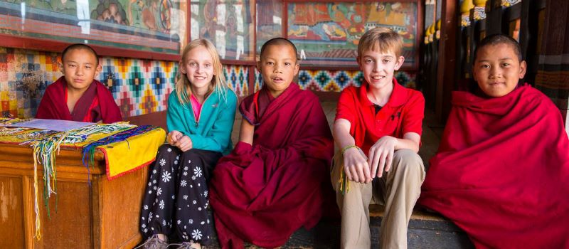 bhutan travel with kids