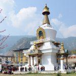 national chorten - festival tours in bhutan
