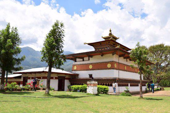 chimi lhakhang - festival bhutan