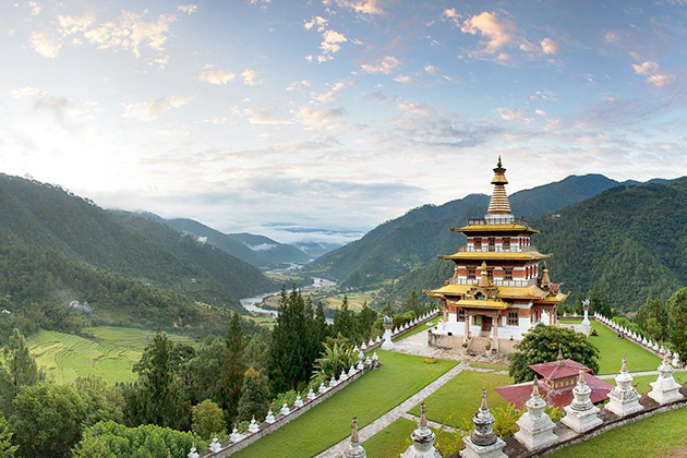 Khamsum Yulley Namgyal Chorten - best bhutan tours
