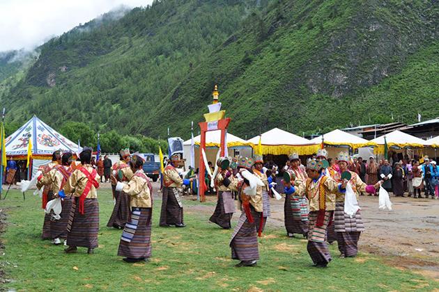 haa summer tshechu - bhutan festival tours