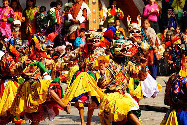 jakar festival - attractions in bumthang