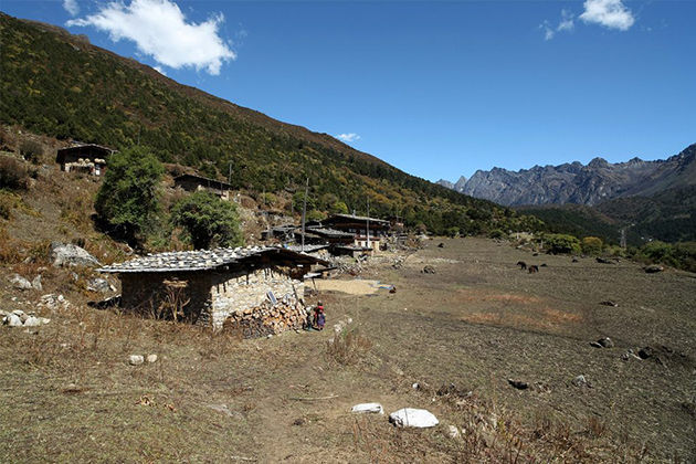 merk sakteng trek - bhutan trekking tours