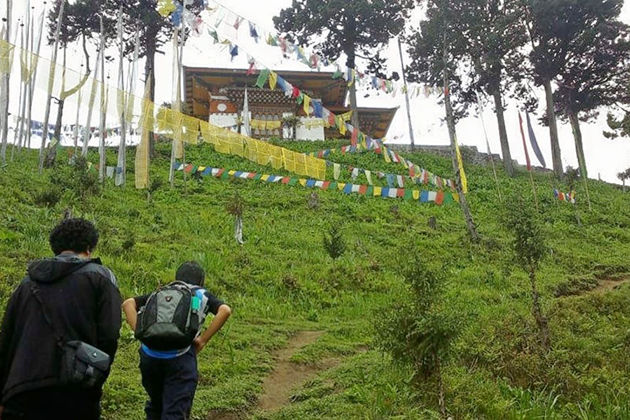 nabji korphu trek - bhutan trek