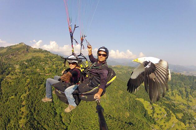 paragliding - bhutan adventure travel