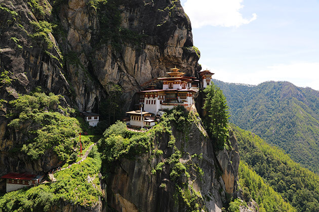 tiger nest - bhutan family tour