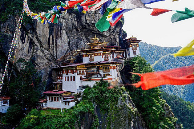 tiger nest - bhutan vacation packages