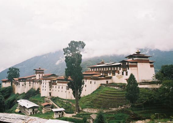 trongsa dzong - history of trongsa dzong