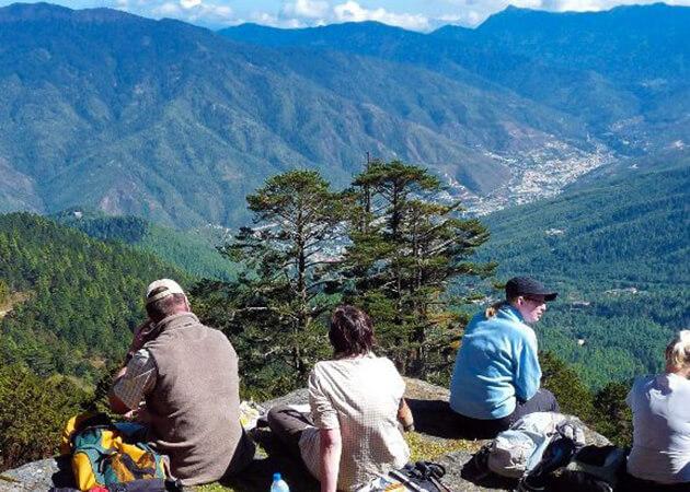 tshokam dzong - bhutan druk path trek