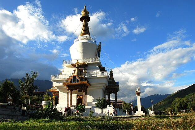 National Memorial Chorten - famous places in thimphu