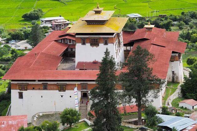 Paro Dzong - destinations to go in Paro
