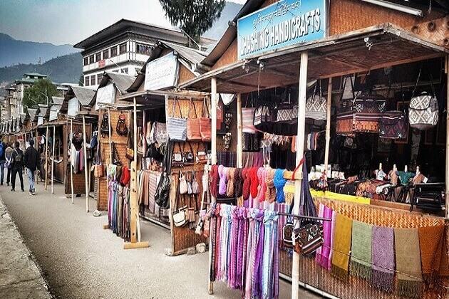Paro craft market - best places see in Paro